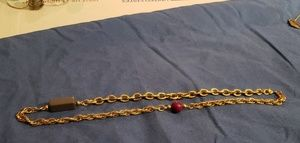 Gold Monet chain with accent stones